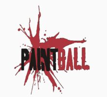 Paintball Red-Black (trim) by Frank Primeau