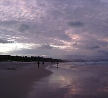 Byron bay by dusk by claireandcoco