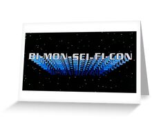 Bi-Mon-Sci-Fi-Con Greeting Card