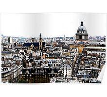 Paris in Colors Poster