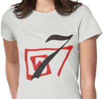Lucky #7 Womens Fitted T-Shirt