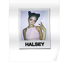 Halsey Polaroid Poster