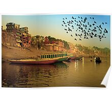 Golden Morning and Holly Ganga Poster