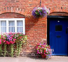 What's behind the 'blue' door by hjaynefoster