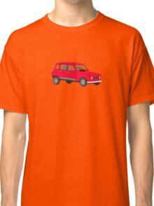 Renault 4 GTL Red Classic T-Shirt