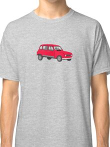 Renault 4 GTL Red Classic T-Shirt