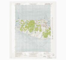 Massachusetts  USGS Historical Topo Map MA Nantucket 350341 1972 24000 Baby Tee