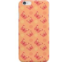 Oriental Butterflies #3 iPhone Case/Skin