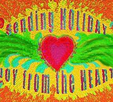 A Heart Felt Holiday Card by James Lewis Hamilton