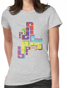colourful questions Womens Fitted T-Shirt