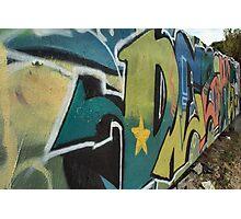 Folly Graffiti Photographic Print