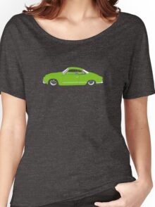 Green Karmann Ghia Tshirt Women's Relaxed Fit T-Shirt