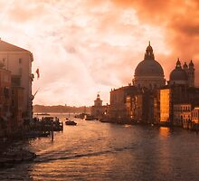 Dawn in Venice by Traven Milovich