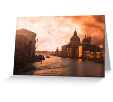 Dawn in Venice Greeting Card