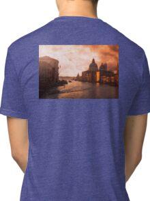 Dawn in Venice Tri-blend T-Shirt