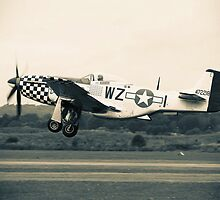 P-51 Mustang by Steve Churchill