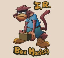 I.R. Box Monkey by Luis Perez