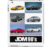 JDM 1990 iPad Case/Skin