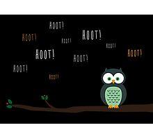 Hoot! Photographic Print