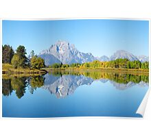 Oxbow Bend - Teton National Park Poster
