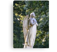 Wings of Love Angel Canvas Print
