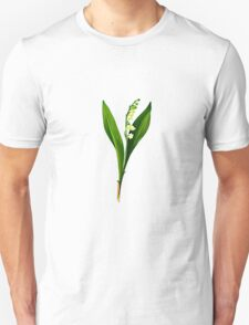 Convallaria majalis-lily of the valley .... Unisex T-Shirt