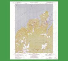 Massachusetts  USGS Historical Topo Map MA Vineyard Haven 351379 1972 25000 Kids Tee
