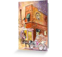 Memphis Authentic Greeting Card