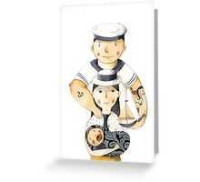 Family Portrait I Greeting Card