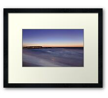 Trigg Beach At Dusk  Framed Print