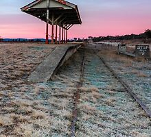 Dead End Dawn - Wallangarra Qld Australia by Beth  Wode