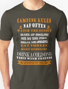 CAMPING RULES T-Shirt