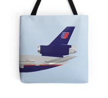 Wings In Uniform - DC-10 - United Airlines - 90's Tote Bag