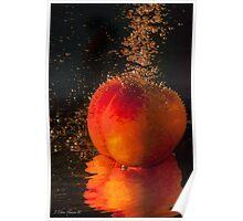 Luscious Nectarine Poster