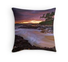 Pa'ako storm foam Throw Pillow