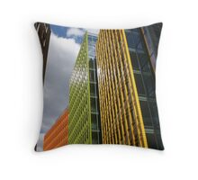 Colourful Centrepoint London Throw Pillow