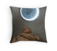 Neues Museum Berlin, Sculpture and Dome Throw Pillow