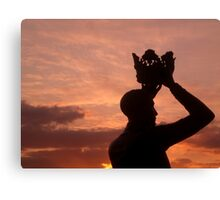 Prince Hal and the Sunset Canvas Print