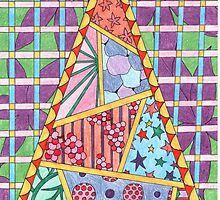 Pyramid Pattern by Sonia Seabrooke