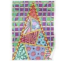 Pyramid Pattern Poster