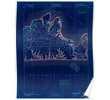 Massachusetts  USGS Historical Topo Map MA Marthas Vineyard 352837 1889 62500 Inverted Poster