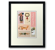 Happy Birthday Framed Print