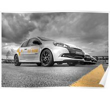 Renault Clio RS Show Poster