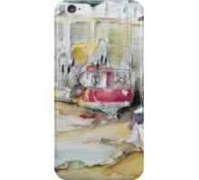 Fishing Boats Settled Aground During Ebb Tide iPhone Case/Skin