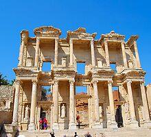 Celsus Library, Ephesus by inglesina