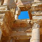 Celsus Library, Ephesus (Detail) by inglesina