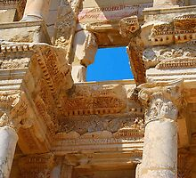 Celsus Library, Ephesus (Detail) by inglesina