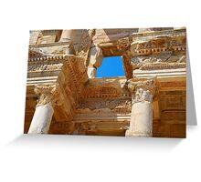 Celsus Library, Ephesus (Detail) Greeting Card