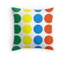 Twister Throw Pillow