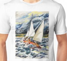 Stormy Way Home Unisex T-Shirt